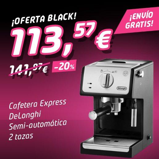 CAFETERA EXPRESS DELONGHI ECP 33.21 ¡Oferta Black Friday!