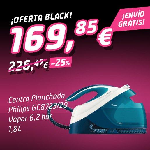 PHILIPS PLANCHA CON GENERADOR DE VAPOR GC8723-20 ¡Oferta Black Friday!